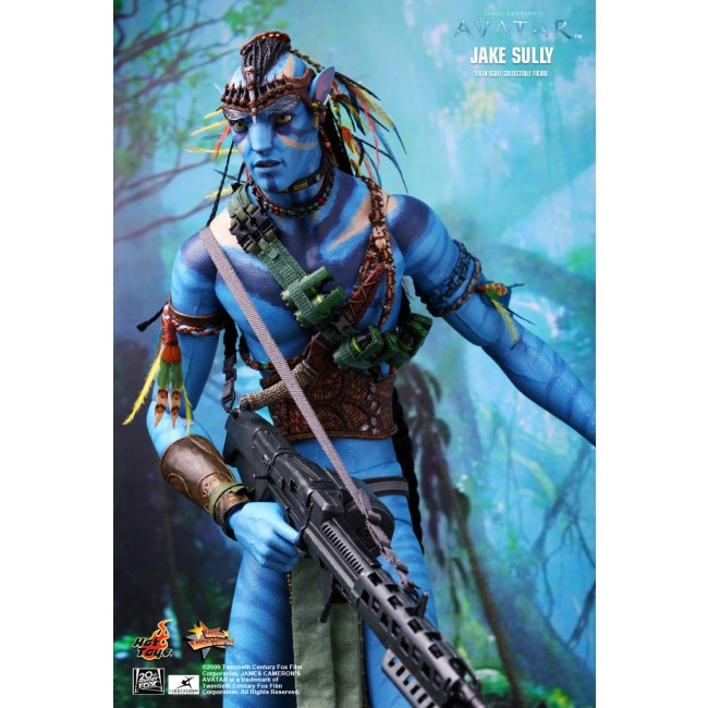 Avatar Jake Sully: Hot Toys Avatar MMS 159 1/6th Scale Jake Sully