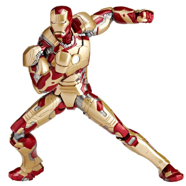 Revoltech Sci-Fi No.049 Iron Man 3 Mark 42 Figure - Toy Garden and ...