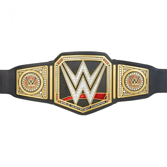 wwe world heavyweight championship collectible role play title belt