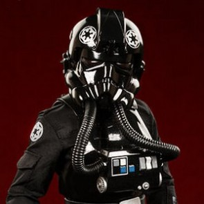 Sideshow 1/6th Scale Star Wars  Imperial TIE Fighter Pilot Figure