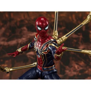 BANDAI Tamashii Nation S.H.Figuarts IRON SPIDER (Final Battle Edition)