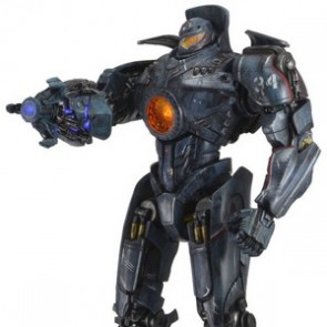 "Neca 18"" Battle Damaged Jaeger Gipsy Danger Action Figure"
