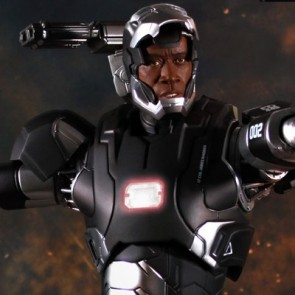 Super Alloy 1/4th Scale Iron Man 3 War Machine Mark II Figure