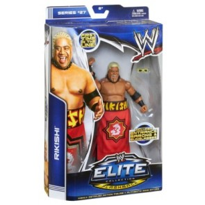 WWE Rikishi Elite Series 27 Action Figure