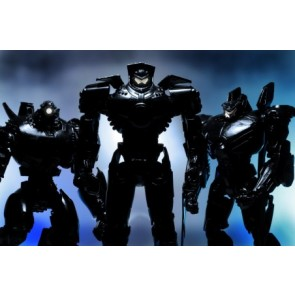 "NECA SDCC Pacific Rim ""End Titles"" Jaeger Action Figure 3-Pack"