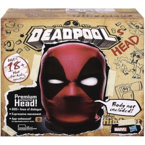 Marvel Legends Deadpool Premium Interactive Head, Moving, Talking Electronic, App-Enhanced Adult Collectible
