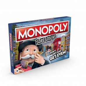 Hasbro Monopoly For Sore Losers Board Game