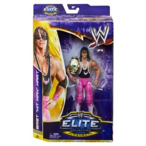 WWE WrestleMania Flashback Elite Bret Hart Action Figure