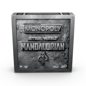 HASBRO Monopoly: Star Wars The Mandalorian Edition Board Game Protect The Child