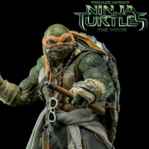 ThreeZero 1/6th Scale TMNT Movie Michelangelo Collectible Figure