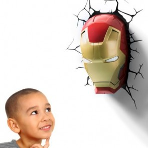 3D LightFX Marvel Iron Man Mask Deco Light