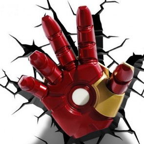 3D LightFX Marvel Iron Man Hand Deco Light