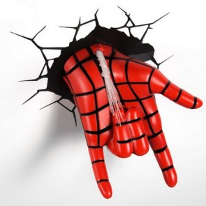 3D LightFX Marvel Spiderman Hand Deco Light