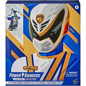 HASBRO POWER RANGERS LIGHTNING COLLECTION S.P.D OMEGA & UNIFORCE CYCLE