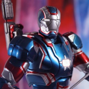 Super Alloy 1/12 Scale Iron Man 3 Iron Patriot Diecast Figure