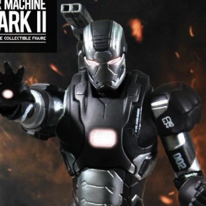 Super Alloy 1/12 Scale Iron Man 3 War Machine Mark II Figure