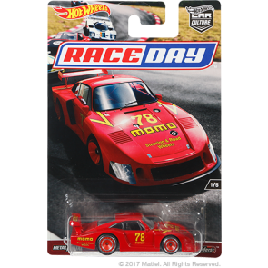 Hot Wheels 2017 Car Culture Series: Race Day Set of 5
