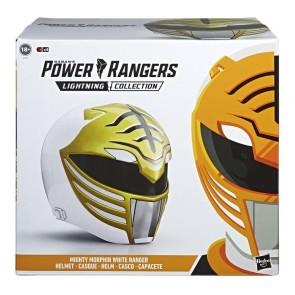 HASBRO Power Rangers Lightning Collection Mighty Morphin White Ranger Helmet
