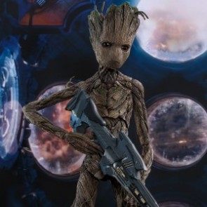 Hot Toys 1/6th Scale MMS475 Avengers: Infinity War Groot Collectible Figure