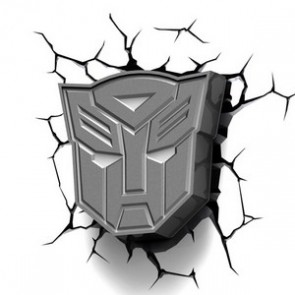 3D LightFX Transformers Autobots Logo Deco Light