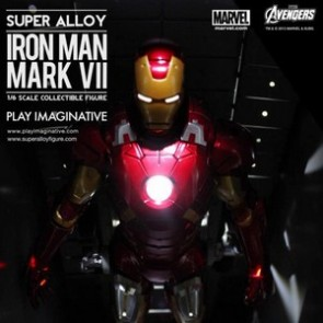 Super Alloy 1/6th Scale Avengers Iron Man Mark 7 and Hall of Armor