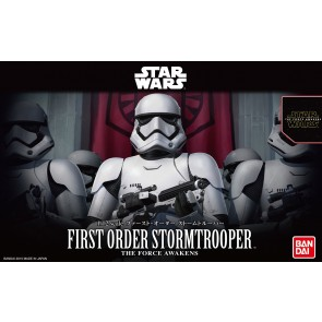 Bandai Star Wars 1/12 Scale First Order Stormtrooper Model Kit