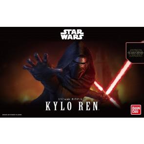 Bandai Star Wars 1/12 Scale Kylo Ren Model Kit