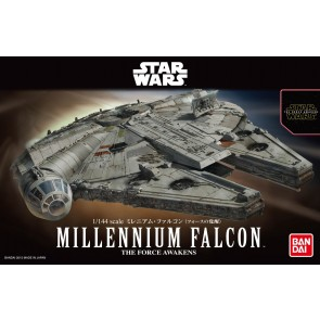 Bandai Star Wars 1/144 Scale The Force Awakens Millennium Falcon Model Kit