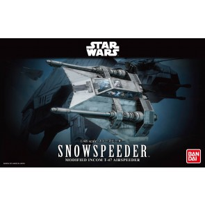 Bandai Star Wars 1/48 Scale Snowspeeder Model Kit