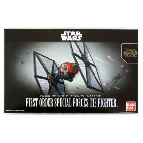 Bandai Star Wars 1/72 Scale First Order Special Forces TIE Fighter Model Kit
