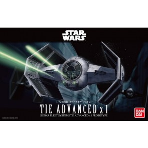 Bandai Star Wars 1/72 Scale TIE Advanded Model Kit