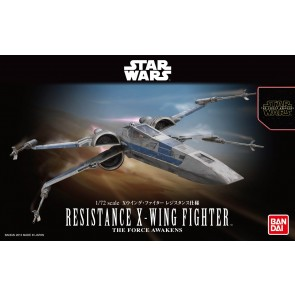 Bandai Star Wars 1/72 Scale The Force Awakens Resistance X-Wing Model Kit