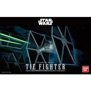 Bandai Star Wars 1/72 Scale TIE Fighter Model Kit
