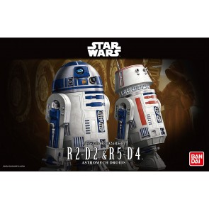 Bandai Star Wars 1/12 Scale R2-D2 & R5-D4 Model Kit