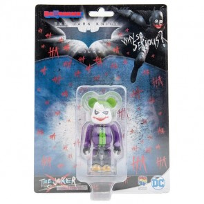 Bearbrick 100% Batman Joker (Laughing Version)