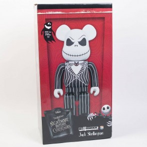 Bearbrick 1000% Jack Skellington Figure