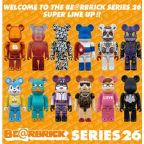Medicom Toy Bearbrick Series 26 Sealed Case of 24
