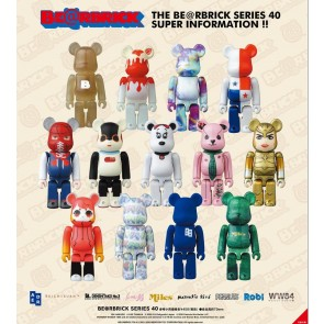 Medicom Toy Bearbrick Sealed Box of 24pcs: Series 40