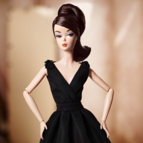 2017 Barbie BFMC Silkstone Classic Black Dress Doll