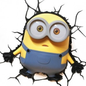 3D LightFX Minions Bob Deco Light