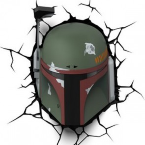 3D LightFX Star Wars Boba Fett Deco Light