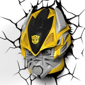 3D LightFX Transformers Bumblebee Deco Light
