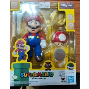 BANDAI Super Mario Brothers S.H.Figuarts MARIO (New Package Ver.)