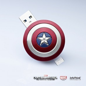 Captain America 2 Shield OTG + USB 8GB