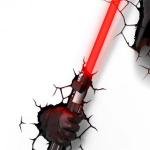 3D LightFX Star Wars Darth Vader LightSaber Deco Light
