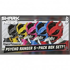 HASBRO Power Rangers Lightning Collection In Space Psycho Ranger 5-Pack
