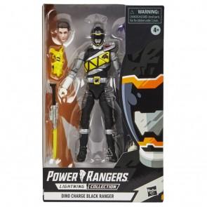 HASBRO Power Rangers Lightning Collection DINO CHARGE BLACK RANGER