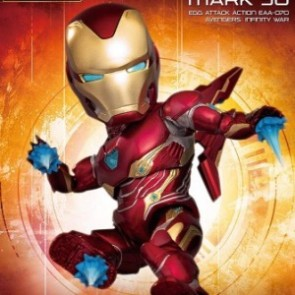 Beast Kingdom Egg Attack Action EAA-070 Avengers: Infinity War Iron Man Mark 50 Deluxe Version