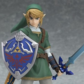 Figma #319 Link Twilight Princess Version Figure