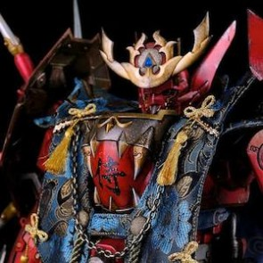ThreeZero x Bandai 1/12 Scale Full Metal Ghost Captain Form Figure